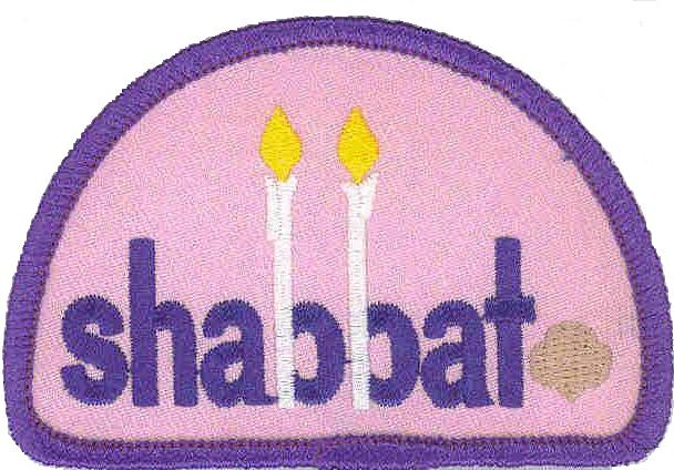 picture of Shabbat patch